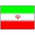 Bandeira do Irã 1.60 Mt.