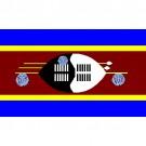 Bandeira da Suazilândia 1.60 Mt.