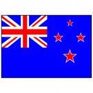 Bandeira da Nova Zelândia 1.60 Mt.