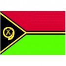 Bandeira de Vanuatu 1.60 Mt.