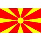 Bandeira da Macedônia 1.60 Mt.