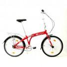 Bicicleta Dobrável Fit Aro 24