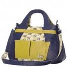 Bolsa Hello Kitty Amarela e Azul Marinho HKSN304