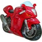 Caricatura Cofre Moto Hayabusa