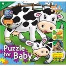 Puzzle for Baby Vaca 4/6/9 Peças