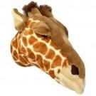 Cabeça de Girafa em Pelúcia para Parede