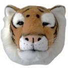Cabeça de Tigre em Pelúcia para Parede