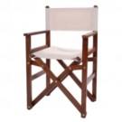 Cadeira de Madeira Diretor Dobrável