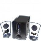 Caixas de Som The Dark Knight 2.1 com Subwoofer