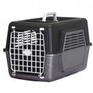 Caixa para Transporte de Animais Preto e Cinza