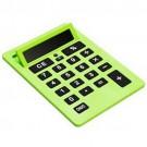 Calculadora A4 Gigante com 8 Digitos Cor Verde