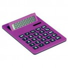 Calculadora A4 Gigante com 8 Digitos Cor Violeta