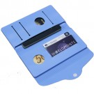 Carteira e Porta Passaporte de Silicone Azul
