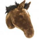 Cabeça de Cavalo em Pelúcia para Parede