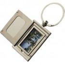 Chaveiro Metálico com Porta Retrato e Espelho