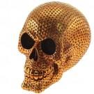 Cofre Caveira Dourada
