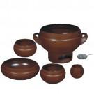 Conjunto para feijoada 6 Peças em Cerâmica