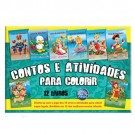 Contos e Atividades Pasta com 12 Livros Para Colorir