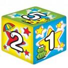 Cubo Médio Números com Guizo