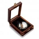 Relógio Gandhi em Caixa de Madeira