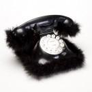 Telefone Pluma Preto