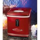 Maquina de Gelo Vermelha Retrô 110 V