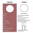 Etiqueta para Vinho Tinto