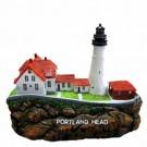 Farol Marítimo Portland e Owls com Som 2 Peças