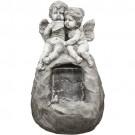 Fonte Dois Anjos na Pedra Espelho D'água