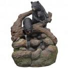 Fonte com Ursos em Resina
