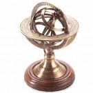 Globo Zodiaco em Bronze