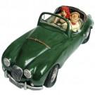 Jaguar Verde da Década de 50
