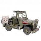 Miniatura de Jeep Militar U.S. Army