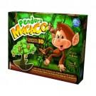 Jogo Pendura Macaco 3D em Madeira