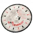 Marcador para Preparação de Drinks em Aço Inox e Giratório