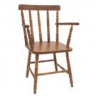 Cadeira Torneada com Apoio de Braço