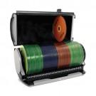Porta CD/DVD Selector 80S Cinza