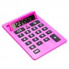 Calculadora A3 Rosa Tamanho Médio