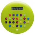 Calculadora Plástica Redonda Tasty Verde