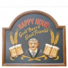 Placa de Parede Happy Hour Oldway
