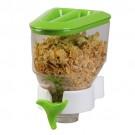 Porta Cereal Verde Simples de Parede