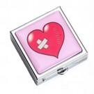 Porta Comprimido de Bolsa Coração
