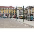 Poster da Praça do Comércio em Lisboa