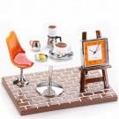 Relógio de Mesa Ambiente Café