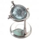 Relógio de Mesa com Bússola