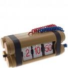 Relógio de Mesa Dinamite Sistema Flip