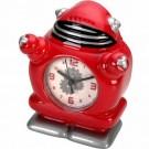 Relógio de Mesa Robô Bobby Red