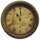 Relógio de Parede Shakespeare em Metal
