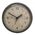 Relógio de Parede Worldmap Envelhecido