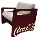 Sofá Coca Cola 1 Lugar